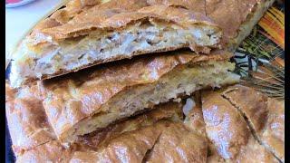 Самый шикарный заливной пирог с картошкой и куриным филе , и самый , самый вкусный !