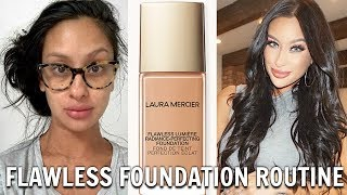 Baixar Perfect Skin?! 😱 | New Laura Mercier Flawless Lumière Radiance Foundation | FULL REVIEW DEMO