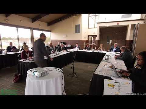2018 03 09 WCC Board of Trustees Spring Retreat