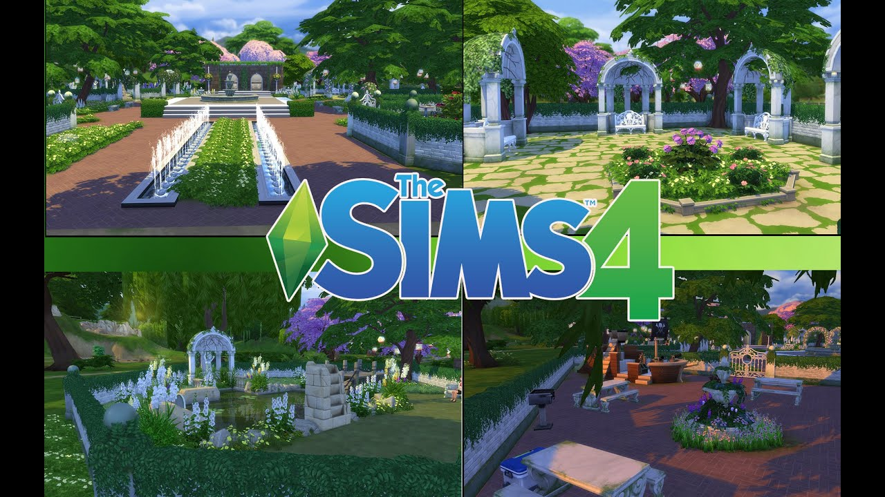 Fabuleux Les Sims 4 : Creation d'un Jardin / Parc - YouTube ZD55