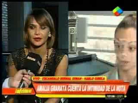 Amalia Granata y su cruce con Cora Debarbieri por la nota con Gisela Bernal
