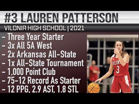 Lauren Patterson (2021) Basketball Highlights | Vilonia High School