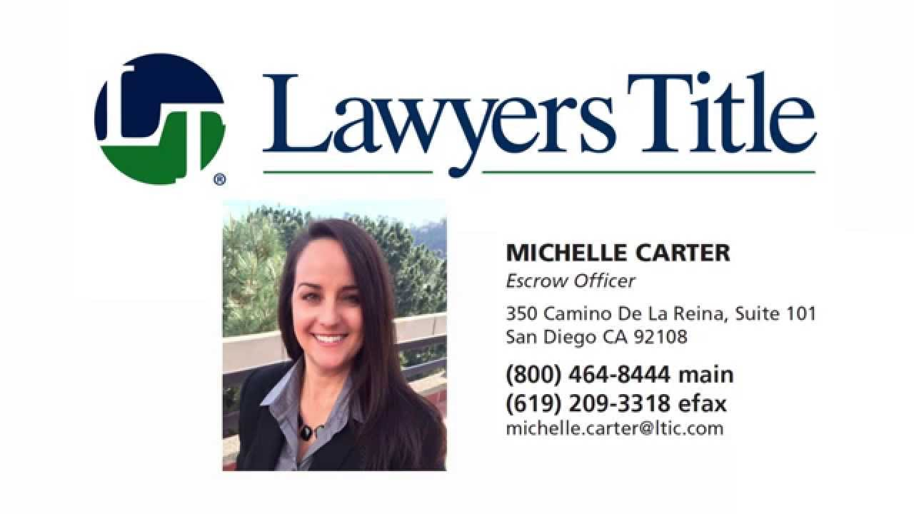 Michelle Carter lawyers title