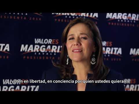 """""""No declino a favor de ningún candidato... no he negociado nada con nadie"""": Margarita Zavala (Video)"""