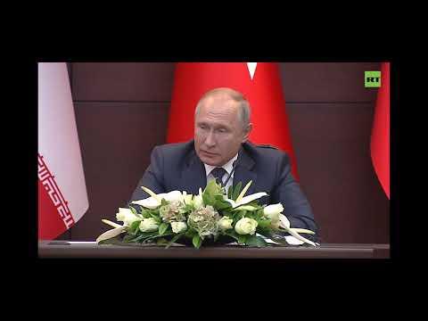 Путин произнёс цитаты из Корана