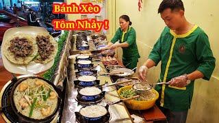 """Có gì trong """"Bánh Xèo Tôm Nhảy"""" của hai vợ chồng gốc Bình Định hút ở Sài Gòn"""