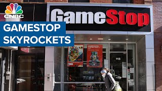 The reddit group wallstreetbets, which is behind massive run in gamestop, has now gone private. leslie picker joins shep smith to explain how and why gam...
