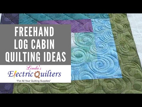Freehand Quilting Ideas For A Log Cabin Block Quilting Tutorial Youtube,How Often Do Puppies Poop At 10 Weeks