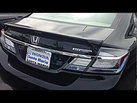 2013 Honda Civic Hybrid Tail Lights Crystal Black Pearl Yt