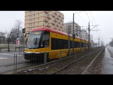 ZTM-Warszawa - Tram in Warschau [1080p-HD]