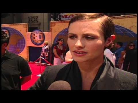 "Around the World in 80 Days: Cecile de France ""Monique La Roche"" Premiere Interview"