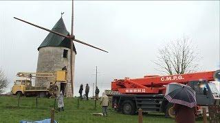 Le moulin de Vensac retrouve ses ailes