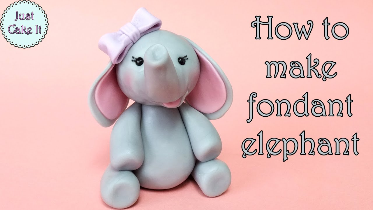 How To Make A D Elephant Cake