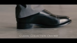 Classic Oxford shoe in black from Samuel Windsor