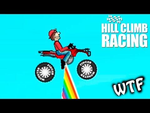 ПО РАДУГЕ на КВАДРОЦИКЛЕ HILL CLIMB RACING #14 челлендж ВИДЕО ПРО МАШИНКИ ДЛЯ ДЕТЕЙ kids car games