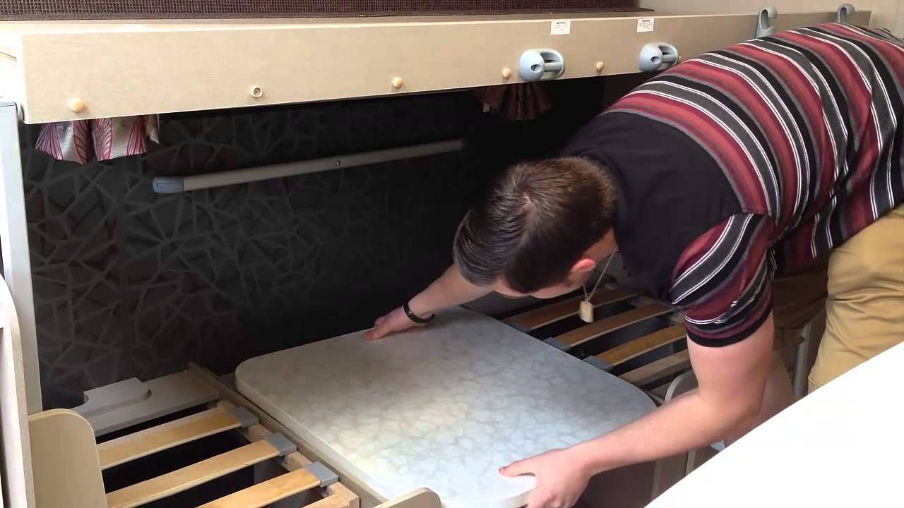 how to build caravan bunk beds youtube. Black Bedroom Furniture Sets. Home Design Ideas