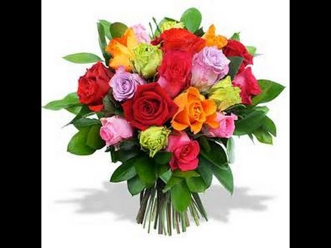Tuto Fimo Le Bouquet De Rose Multicolore Youtube