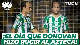 ¡Viejo conocido! Landon Donovan regresaba al Estadio Azteca con la camiseta del León I TUDN