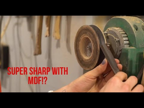Crazy Sharp Chisels And Gouges For Cheap! ; How To Sharpen Carving Gouges