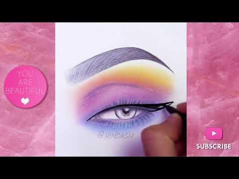 ⚡Amazing Face Chart Makeup   Eyemakeup Face Chart Compilation