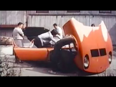 Miura P400 in: 'Red' (1970)