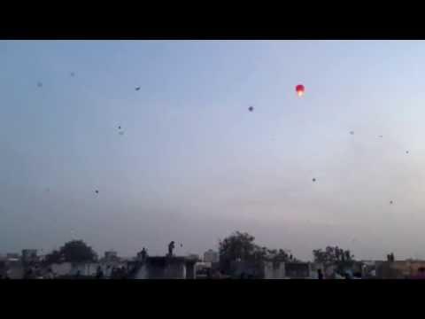 Uttarayan / Kite Festival in India