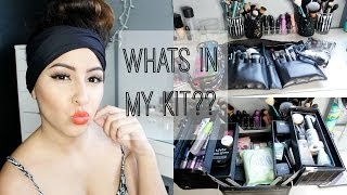Whats In My Kit + Tips For Beginners | Misstiffanykaee