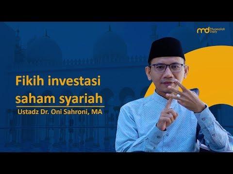 Fikih Investasi Saham Syariah - Ustadz Dr. Oni Sahroni, MA