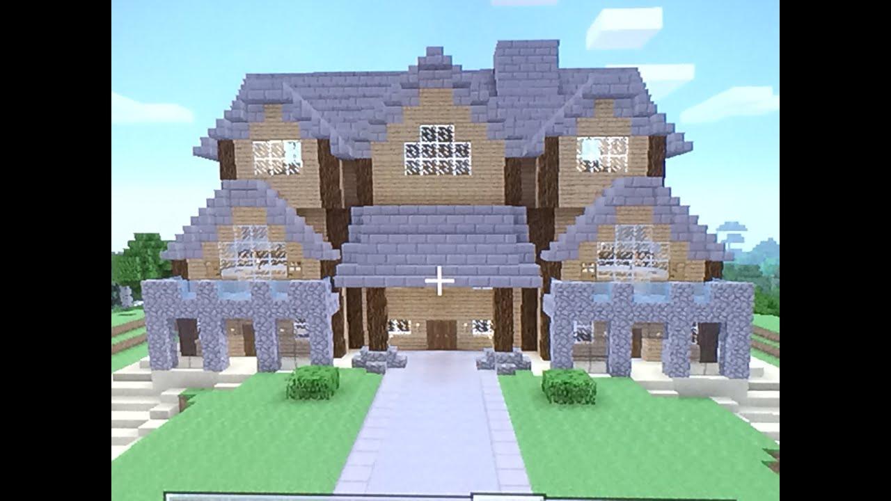 Superb Minecraft Wooden Mansion Tour