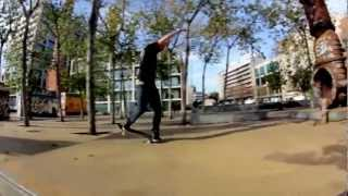 OWNR - Spain - Barcelona - Parallel - Ricardo Paterno - Cap180 x Nose Manual x Switchflip
