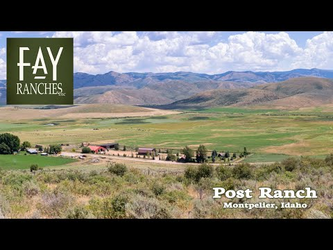 SOLD | Idaho Cattle Ranch For Sale | Post Ranch | Montpelier, ID | Bear River Valley Property