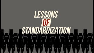 Lessons of standartization