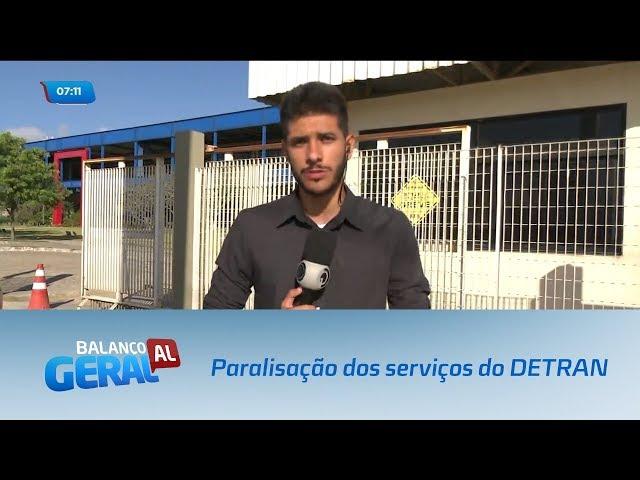 Paralisação dos serviços do DETRAN continua todas as quartas