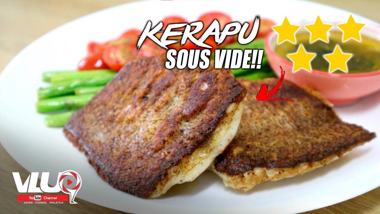 Kerapu Sous VIDE 5 BINTANG! - #VLUQ230