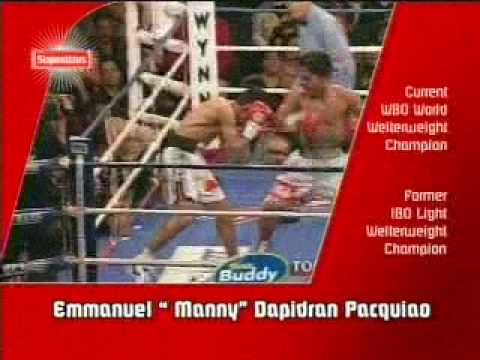EMMANUEL 'MANNY' DAPIDRAN PACQUIAO (soon-to-be EIGHT Division World Champion)