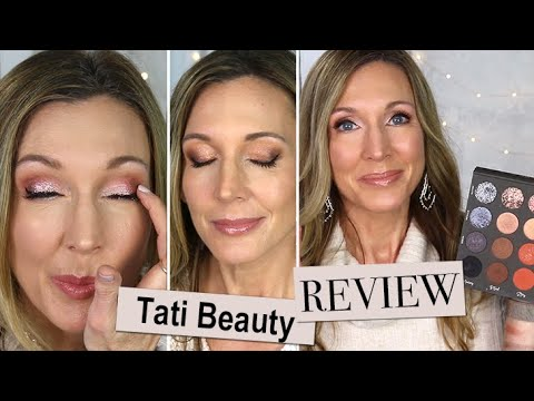 Tati Beauty Textured Neutrals Palette Review on Mature Skin + 3 Looks! thumbnail