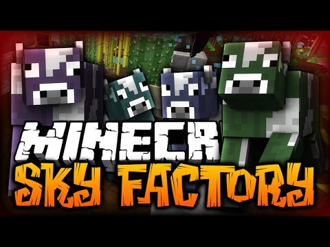 Minecraft: THE MAD COW DISEASE | SkyFactory 2 W/ SSundee