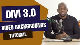 Divi tutorial - How to add a video background using Divi 3.0