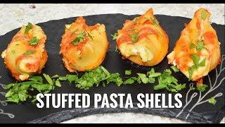 Stuffed Pasta Shells - Vegetarian Pasta Recipes