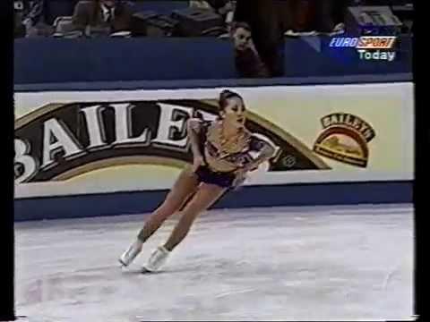 Michelle Kwan USA  1996 World Championships LP