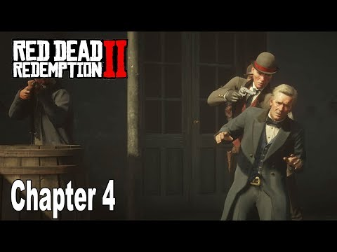 Red Dead Redemption 2 - Chapter 4: Saint Denis Walkthrough [HD 1080P]