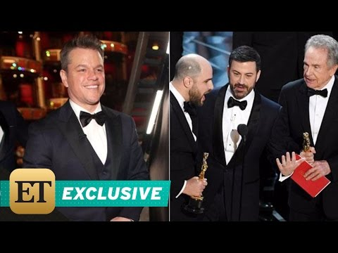 EXCLUSIVE: Matt Damon Roasts Jimmy Kimmel After Oscars Flub: 'They Got What They Paid For'