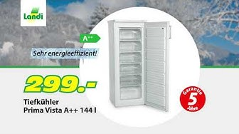 LANDI TV-Werbung - Tiefkühler Prima Vista / Raclette-Grill Stein