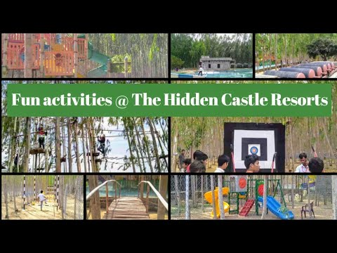 The Hidden Castle Resorts | Water Park in Hyderabad | Adventure Sports in Hyderabad