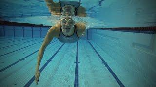 Лица СпоРТ: Яна Мартынова о технике плавания / Как правильно плавать