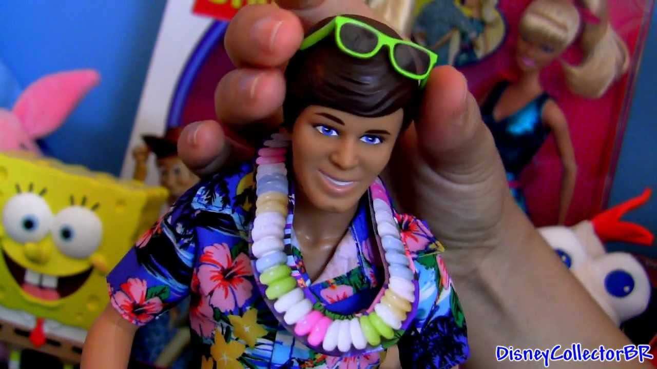 Toy Story 3 Hawaiian Vacation Toys Review Ferias No Havai Barbie Ken