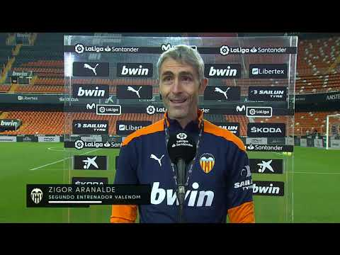 Calentamiento Valencia CF vs Villarreal CF