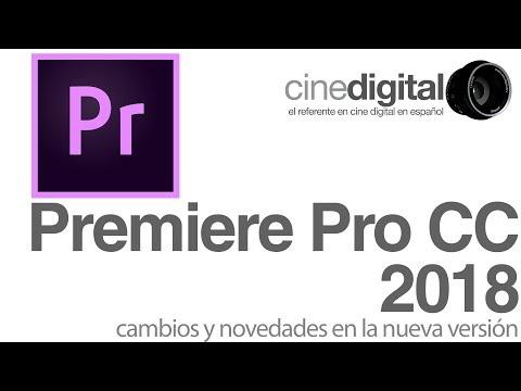 Novedades en Premiere Pro CC 2018