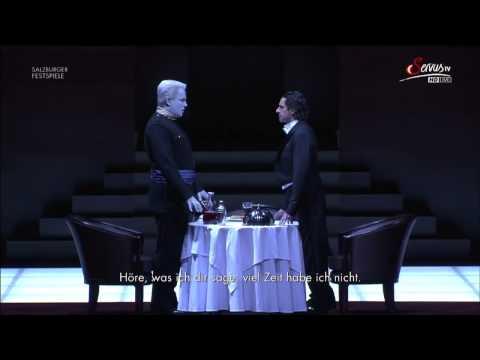 Ildebrando D'Arcangelo - Commendatore scene - Salzburg 2014