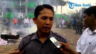 Ribuan Surat Suara Dibakar Bawaslu Provinsi Jambi